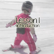Teach Children Skiing Lesson 1