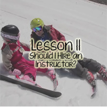 Teach Children Skiing Lesson 12