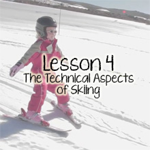 Teach Children Skiing Lesson 4