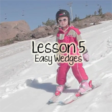Teach Children Skiing Lesson 5