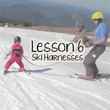 Teach Children Skiing Lesson 6